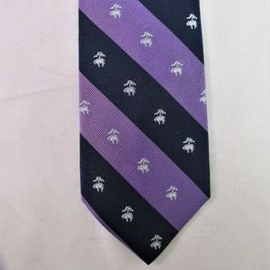 Brooks Bros. Logo/Stripe Men's Silk Tie